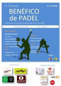 torneo solidario a Favor de la Cocina Económica de La Coruña.