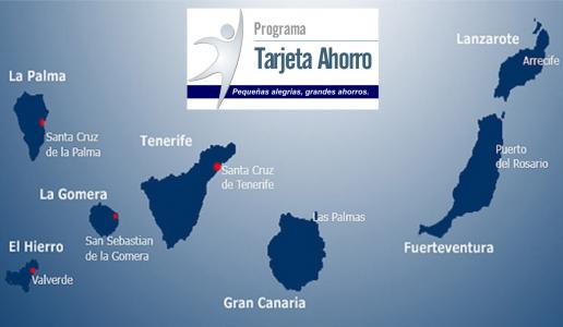 Tarjeta Ahorro Llega a Canarias
